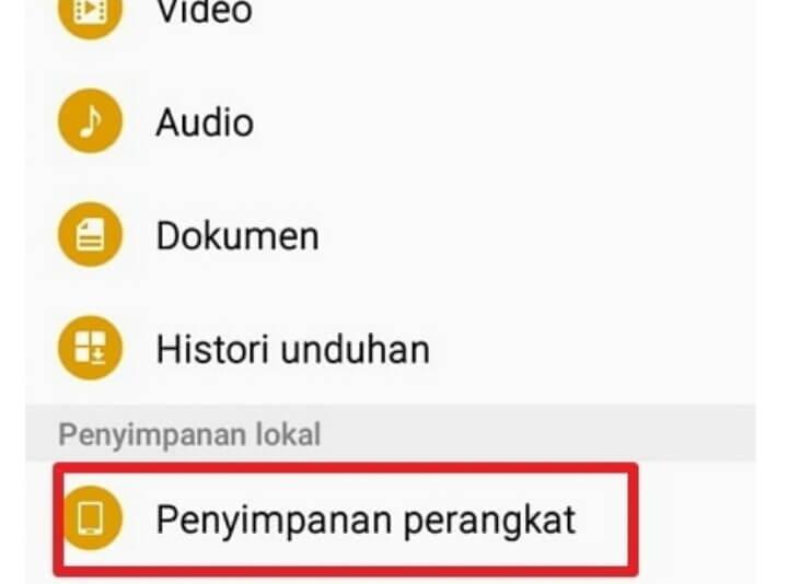 Cara Menyembunyikan File di Smartphone